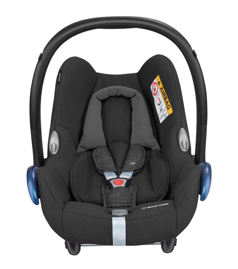 maxicosi carseat babycarseat cabriofix 2018  black nomadblack front group0+ infant belt isofix isize