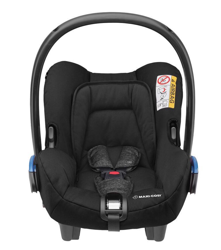 maxicosi carseat babycarseat citi 2018 black nomadblack front group0+ infant belt isofix isize