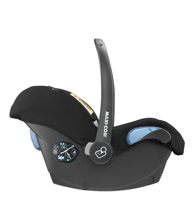 maxicosi carseat babycarseat citi 2018 black nomadblack rearwardfacing  side group0+ infant belt isofix isize
