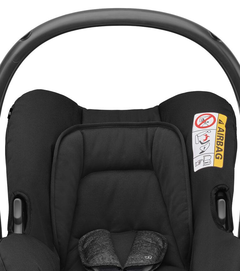 maxicosi carseat babycarseat citi 2018 black nomadblack sideprotectionsystem front group0+ infant belt isofix